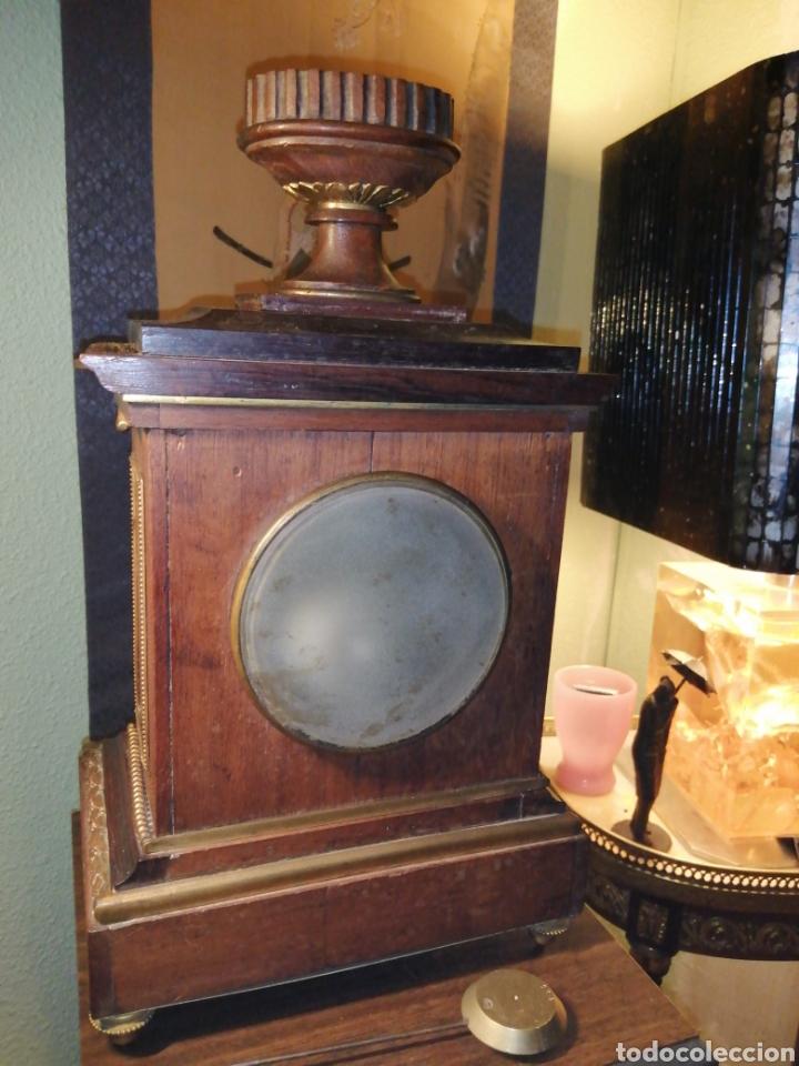 Relojes de carga manual: Reloj de sobremesa en madera,Francia siglo XIX c.1880 - Foto 9 - 195516363