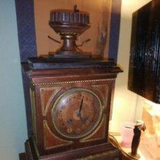 Relojes de carga manual: RELOJ DE SOBREMESA EN MADERA,FRANCIA SIGLO XIX C.1880. Lote 195516363