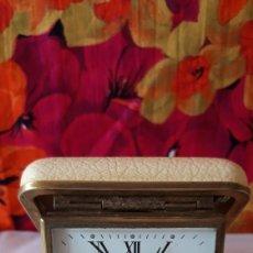 Relojes de carga manual: RELOJ DESPERTADOR EUROPA DE PETACA. Lote 195929577