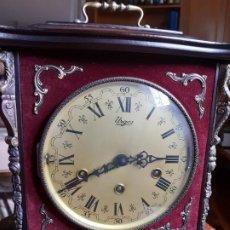 Relojes de carga manual: RELOJ DE SOBREMESA ALEMÁN URGOS CON TRES MELODÍAS. EN PERFECTO ESTADO.. Lote 195989606