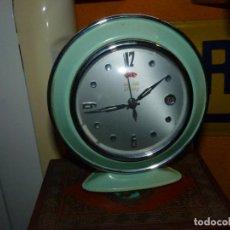 Relojes de carga manual: BONITO RELOJ HERO DESPERTADOR CARGA MANUAL AÑOS 60 VINTAGE. Lote 197350076