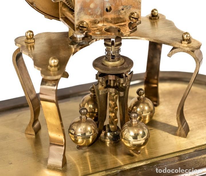 Relojes de carga manual: ANTIGUO RELOJ DE SOBREMESA DE LA MARCA KUNDO, DE CUERDA MANUAL DE ORIGEN ALEMÁN FUNCIONANDO - Foto 6 - 198331203