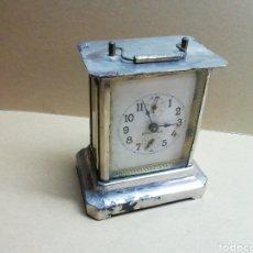 Relógios de carga manual: ANTIGUO RELOJ SOBREMESA MARCA STOCKHOLM FUNCIONANDO. Lote 198395751
