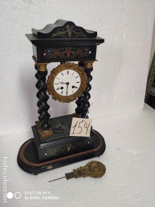Relojes de carga manual: RELOJ DE PÓRTICO DE SOBREMESA ESTILO NAPOLEÓN III, 6000-154 - Foto 20 - 43451948