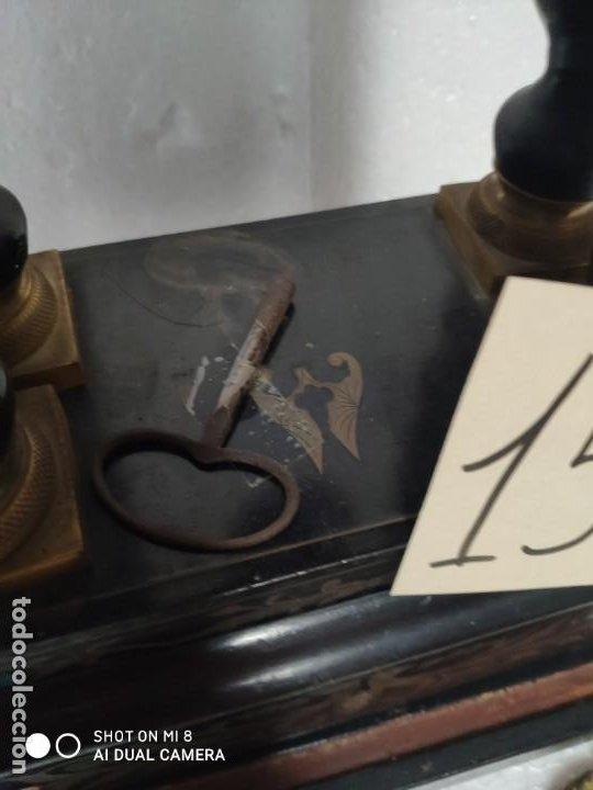 Relojes de carga manual: RELOJ DE PÓRTICO DE SOBREMESA ESTILO NAPOLEÓN III, 6000-154 - Foto 21 - 43451948