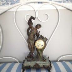 Relojes de carga manual: RELOJ MODERNISTA FIRMADO. Lote 199325561