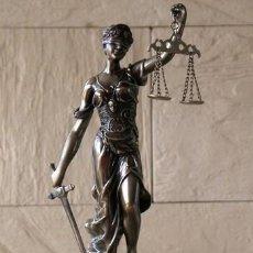 Relojes de carga manual: RELOJ DIOSA DE LA JUSTICIA - 47 CM ALTO. Lote 217861350