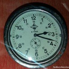 Relógios de carga manual: RELOJ * OTA * 8 TAGE - DE AVIÓN O BARCO. Lote 199559562