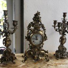 Relojes de carga manual: GUARNICIÓN ESTILO LUIS XV. Lote 199995405