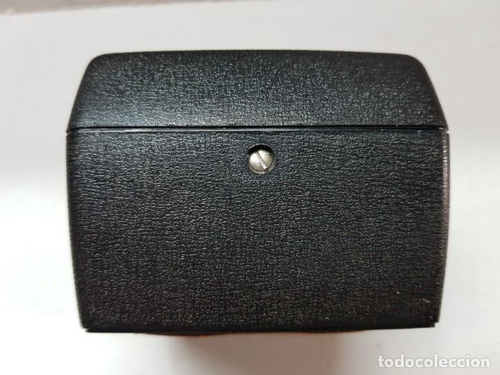 Relojes de carga manual: Reloj Sobremesa Ventanillas,Cortinillas Banco Peninsular funcionando Dificilisimo - Foto 3 - 200548460