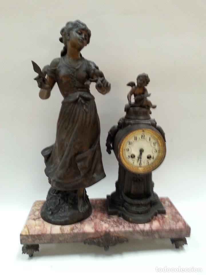 Relojes de carga manual: reloj de sobremesa frances -MOREAU- - Foto 4 - 200564823