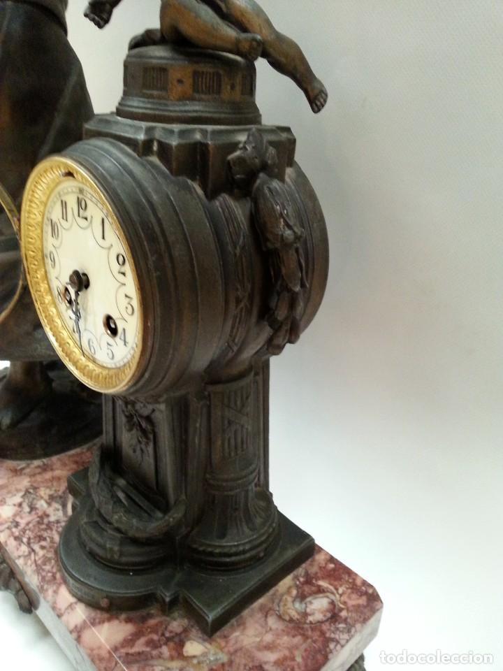 Relojes de carga manual: reloj de sobremesa frances -MOREAU- - Foto 11 - 200564823