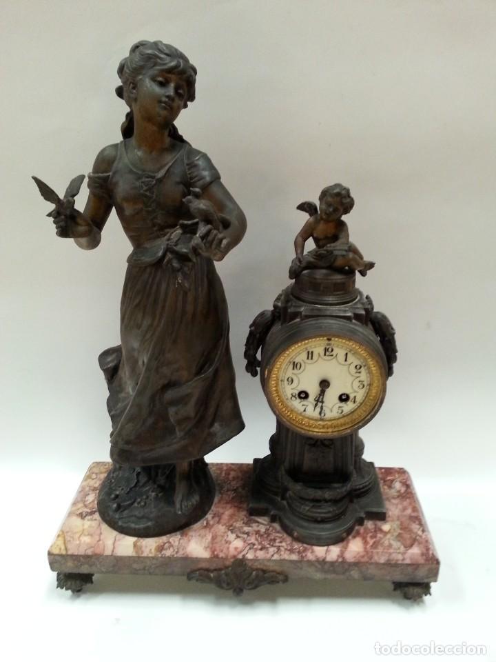 Relojes de carga manual: reloj de sobremesa frances -MOREAU- - Foto 12 - 200564823