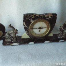 Relojes de carga manual: RELOJ ART DECO-UCRA-. Lote 200565431
