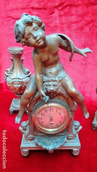 Relojes de carga manual: reloj de mesa frances-MOREAU- - Foto 2 - 200567840