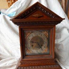 Relojes de carga manual: RELOJ DE SOBREMESA ARQUITECTONICO A CUERDA. Lote 201192960