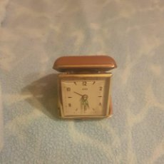 Relojes de carga manual: RELOJ SOBREMESA CARGA MANUAL 3 JEWELS ALEMANIA. Lote 201231780
