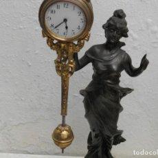 Relojes de carga manual: RELOJ MISTERIOSO DE MUSEO. Lote 201688706