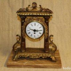 Relojes de carga manual: RELOJ DE BRONCE. Lote 202357840