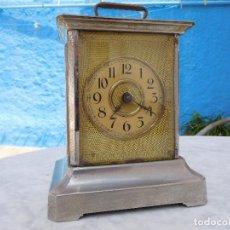 Relojes de carga manual: RELOJ ANTIGUO CON SONERIA DE HORAS Y MEDIAS. Lote 202585798