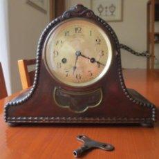 Relojes de carga manual: RELOJ ALEMÁN DE SOBREMESA GUSTAF BECKER - G.B - FUNCIONA. Lote 202704192