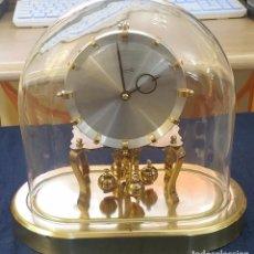 Relojes de carga manual: RELOJ MARCA KUNDO, ALEMANIA PÉNDULO CON HILO DE TORSIÓN 400 DÍAS, DE LOS AÑOS 50, FUNCIONANDO. Lote 203796085