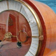 Relojes de carga manual: PRECIOSA CAJA PARA RELOJ - NUMERADA - ESTILO ART DECÓ - TRES PINOS - ALEMÁN - SOBREMESA - VINTAGE. Lote 204153803