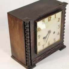 Relógios de carga manual: RELOJ DE CHIMENEA INGLES ANTIGUO. Lote 204175120