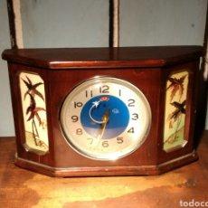 Relojes de carga manual: RELOJ DIAMOND AVIÓN SEGUNDERO SOBREMESA. Lote 204220381