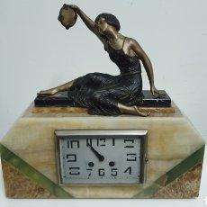 Relojes de carga manual: RELOJ ART DECO.. Lote 204610600