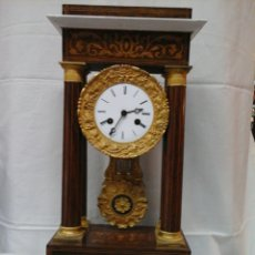 Relojes de carga manual: RELOJ DE PENDULO ESTILO IMPERIO. Lote 205399067