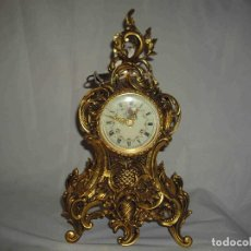 Relojes de carga manual: RELOJ DORADO BRONCE37. Lote 205711376
