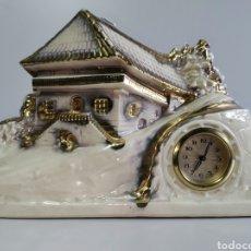 Relógios de carga manual: IMPECABLE GRANDE RELOJ DE CUERDA GERMANY, AÑOS 70. 35 CM.. Lote 205824807