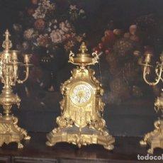 Relojes de carga manual: GUARNICION DERADO COMPLETA. Lote 205867777