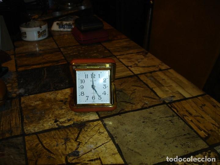 Relojes de carga manual: excepcional coleccion de relojes de viaje despertadores ver fotos - Foto 4 - 205912306