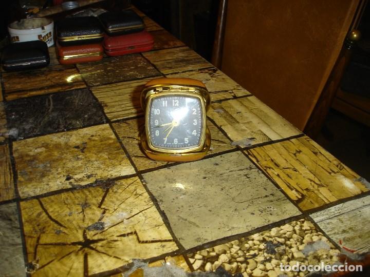 Relojes de carga manual: excepcional coleccion de relojes de viaje despertadores ver fotos - Foto 7 - 205912306