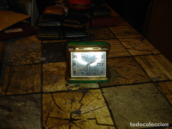 Relojes de carga manual: excepcional coleccion de relojes de viaje despertadores ver fotos - Foto 13 - 205912306