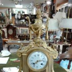 """Relojes de carga manual: RELOJ A LOS QUERUBINES NAPOLEÓN III """"CHARPENTIER BRONZIERS"""". Lote 207077315"""