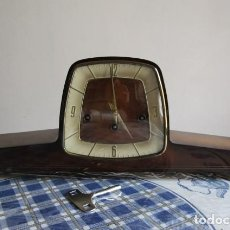 Relojes de carga manual: RELOJ ANTIGUO ALEMAN DE CHIMENEA MESA SOBREMESA SONERIA CAMPANADAS MELODÍA CATEDRAL BIB BEN CARILLÓN. Lote 207113765