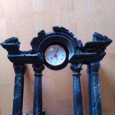 Relojes de carga manual: PRECIOSO RELOJ TUSCANY SOBREMESA EN PANTEÓN GRIEGO/ROMANO DE 6,800KG DE PESO. VER DESCRIPCIÓN. Lote 207127566