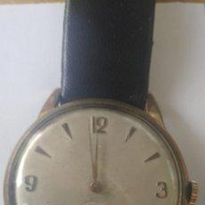 Relojes de carga manual: RELOJ DE CUERDA CHAPADO EN ORO. Lote 207333807