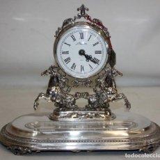 Relojes de carga manual: RELOJ PEDRO DURAN REALIZADO INTEGRAMENTE EN PLATA DE LEY. Lote 207829157