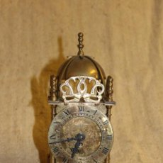 Relojes de carga manual: RELOJ DE SOBREMESA LATON. Lote 207946772