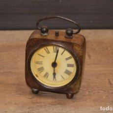 Relógios de carga manual: RELOJ DE BRONCE ESTILO ANTIGUO. Lote 208187618