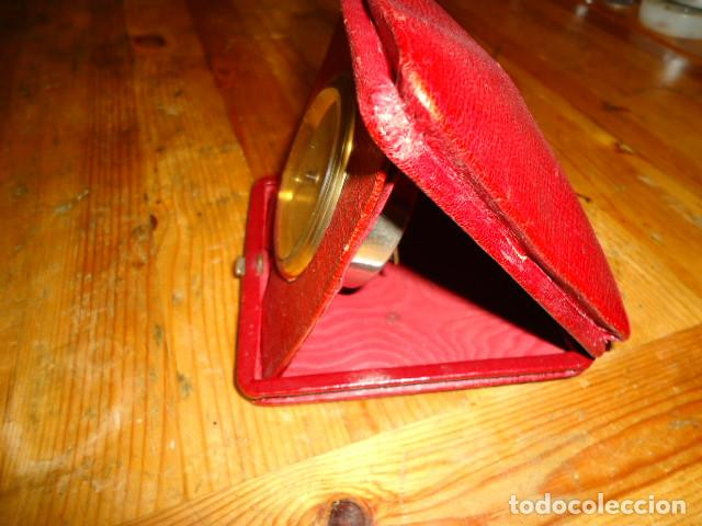 Relojes de carga manual: RELOJ 8 DIAS CUERDA CON DEPERTADOR DE VIAJE - Foto 3 - 209576207
