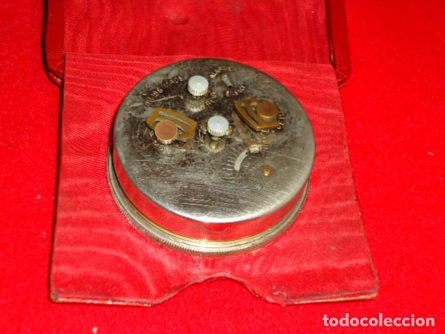 Relojes de carga manual: RELOJ 8 DIAS CUERDA CON DEPERTADOR DE VIAJE - Foto 5 - 209576207