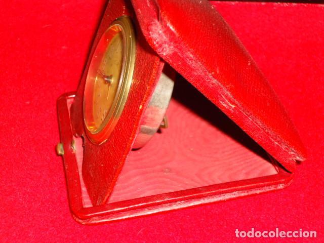 Relojes de carga manual: RELOJ 8 DIAS CUERDA CON DEPERTADOR DE VIAJE - Foto 8 - 209576207