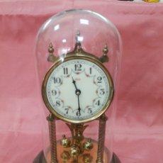 Relojes de carga manual: RELOJ ALEMAN. FUNCIONANDO. AUNQUE NECESITA LIMPIEZA Y AJUSTE. FANAL DE CRISTAL.. Lote 210446505