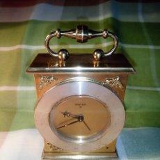 Relojes de carga manual: RELOJ DESPERTADOR - SWIZA 8 DIAS. FUNCIONANDO. ESTILO CARRUAJE. DESCRIPCION Y FOTOS.. Lote 210461117