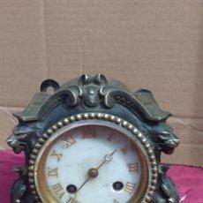 Relojes de carga manual: PRECIOSO RELOJ DE BRONCE. Lote 210942845
